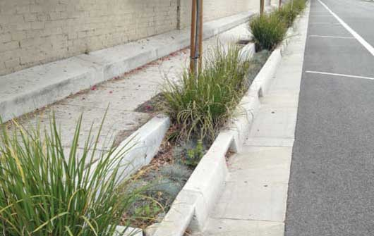 Photo of a ULAR Green Streets project